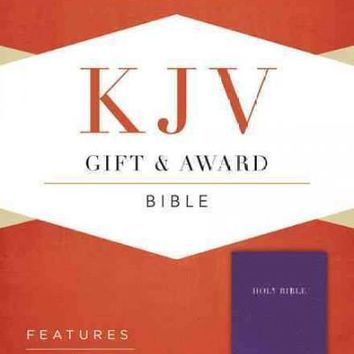 Holy Bible: King James Version, Purple, Imitation Leather, Gift & Award