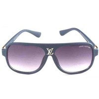 LV Fashion Women Men Simple Summer Sun Shades Eyeglasses Glasses Sunglasses I-ANMYJ-BCYJ