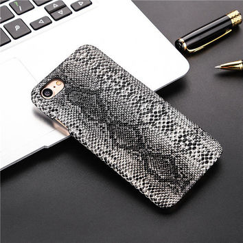 Animal skin 3D embossing design Phone Cases For iPhone 6 6S 6Plu f67abab98