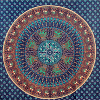 Mandala Tapestry Tapestries, Indian Tapestry, Hippie Tapestry, Indian Wall Hanging, Indian Bedspread, Bohemian Tapestry
