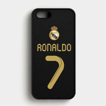 Real Madrid Ronaldo Cr7 Jersey iPhone SE Case
