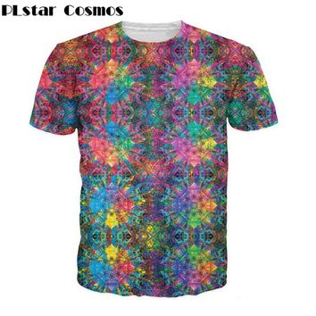 Psychedelic Hippy Bohemian Style Tee
