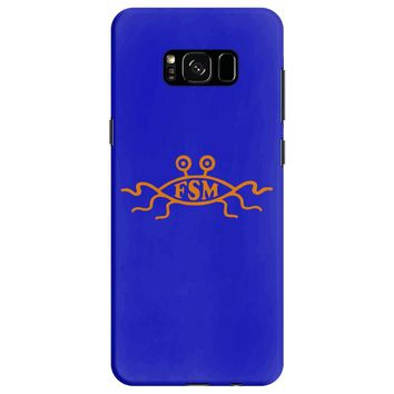 church of the flying spaghetti monster mens t shirt Samsung Galaxy S8
