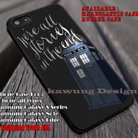 Police Box Shinning | Tardis | Quote iPhone 6s 6 6s+ 6plus Cases Samsung Galaxy s5 s6 Edge+ NOTE 5 4 3 #movie #cartoon #superwholock #supernatural #doctorwho #sherlockholmes ii