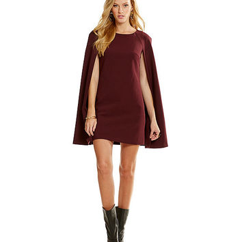 Trina Turk Gizela Cape Dress | Dillards