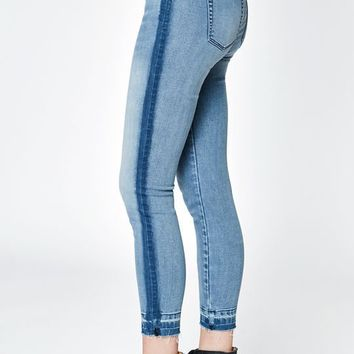 PacSun Happy Blue Low Rise Jeggings at PacSun.com