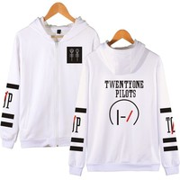 2018 Men's Fashion Kassidy's Twenty One Pilots Hoody Man Italia Autumn And Winter New Letter Print Long Sleeves Hoodies Hiphop