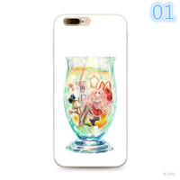 2017 For Apple Iphone 7 Case  elk cheetah thin TPU Case Full Hemming Oil painting effect Phone Cases-0329