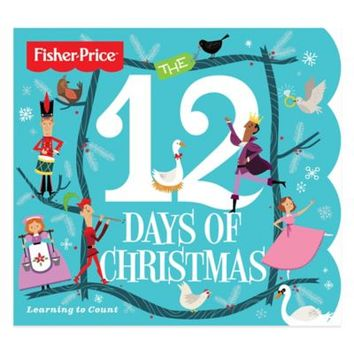 "Fisher-Price ""The 12 Days of Christmas"" Learning to Count Board Book"