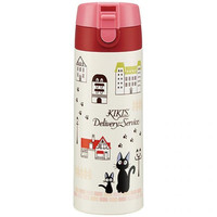 Studio Ghibli Kiki's Delivery Service One Push Lock Stainless Mug 350ml (City Series)