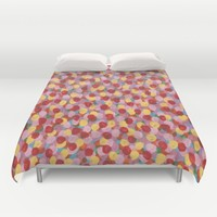 Summer Flowers Duvet Cover by Kat Mun | Society6
