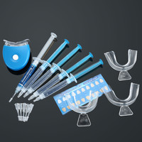 Teeth Whitening Dental Bleaching System Whitening Home Kit Tooth Whitener Whitening Gel Dental Trays Care SM6