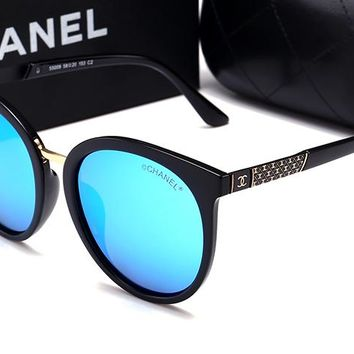 Chanel women's trendy fashion brand beautiful sunglasses F-HWYMSH-YJ #2