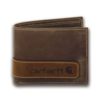 Carhartt® Men's Two-Tone Billfold with Wing Wallet