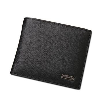 Men Wallets With Coin Pocket Purses Male Wallets