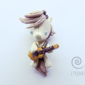 Niall Horan Pendant // Polymer Clay One Direction Jewelry // Plushie-like Ponies