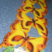 Vintage Butterfly Wall Hanging