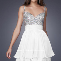 La Femme 16813 La Femme Shorts Prom Dresses, Evening Dresses and Homecoming Dresses | McHenry | Crystal Lake IL