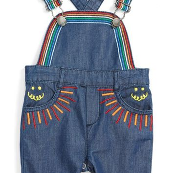 Stella McCartney Kids Sunbeam Overalls (Baby Girls) | Nordstrom