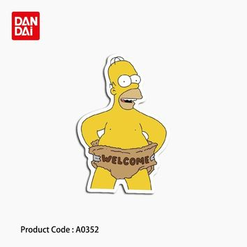 Simpson anime characters welcome to sign letters waterproof stickers toys laptop phone guitar skateboard A0352 sticker hz 30