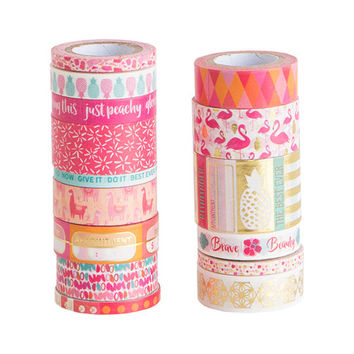 Warm Icons Washi Tape Tube By Recollections™