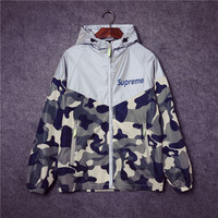 Camouflage Unisex Lighting Windbreaker [9445745223]