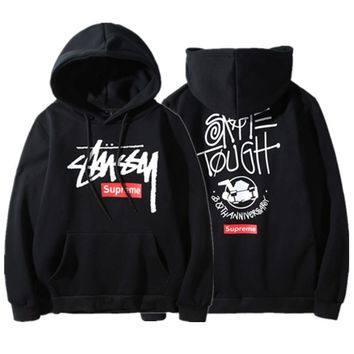 Stussy Hoodies Winter Pullover Couple Hats [9391648903]