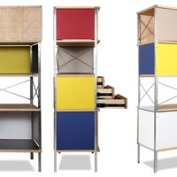 Storage Unit & Bookcase - Charles Eames Replica | Interior Addict