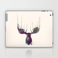Moose Laptop & iPad Skin by Amy Hamilton