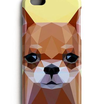 Geometric Chihuahua iPhone X Case iPhone 8 Case