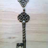 "Enchanted ""Secret Garden"" Key Necklace"