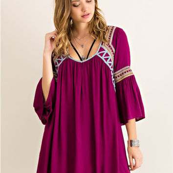 Plum Gorgeous Dress