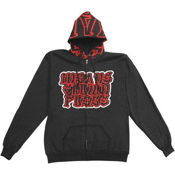 Insane Clown Posse  Girls Jr Hooded Sweatshirt Black
