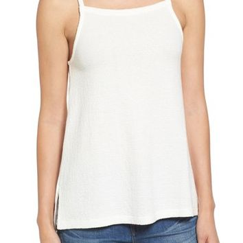 Madewell High Neck Cotton Tank | Nordstrom
