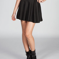 Full Tilt Skater Skirt Black  In Sizes