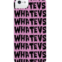 WHATEVS IPHONE CASE*