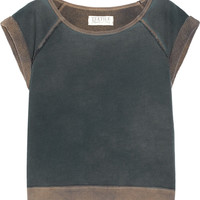 TEXTILE Elizabeth and James Cotton French terry top – 60% at THE OUTNET.COM