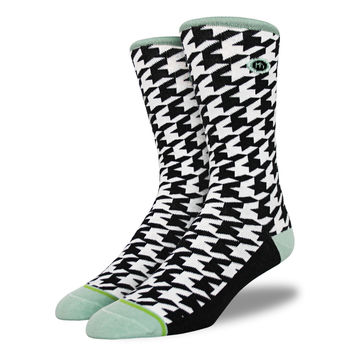 The Geno - Men's Houndstooth Socks
