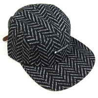 Undefeated: H.B. Camp 5 Panel Hat - Black