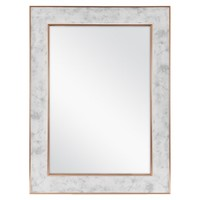 Mainstays 18x24 Marble Mirror with Metallic Copper Edges - Walmart.com