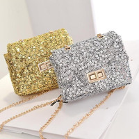 Bags Stylish Chain Ladies Shoulder Bags [6582404359]