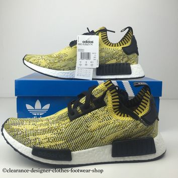 ADIDAS NMD RUNNER PK MENS TRAINERS NOMAD PRIMEKNIT YEEZY RUNNING SHOES UK 10