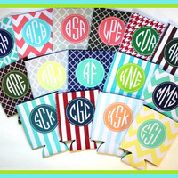Can Koozie, Can Coozie, Personalized Can Koozie, Personalized Can Koozies, Monogrammed Can Koozie, Personalized Can Wrap
