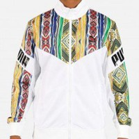 Puma Coogi Track Jacket (White/Multicolor)