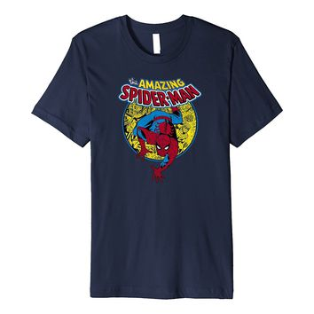 Marvel Amazing Spider-Man Vintage Comic Premium T-Shirt