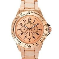 ASOS Rose Gold Sports Watch at asos.com