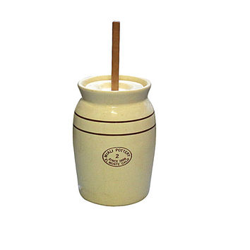 Old Butter Churn, Vintage Farm Kitchen Tool, Retro Country Home Decor