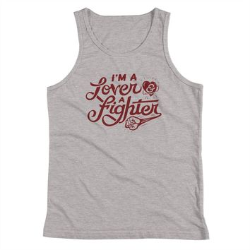 I'm A Lover and A Fighter Youth Tank Top