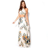 2 Piece Set Dresses Maxi Dress