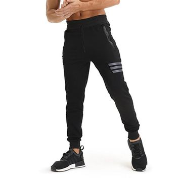 Men's Sweatpants Gyms Workout Exercises Fitness Bodybuilding Sportswear Trousers Jogging Leggings Running Sport Training Pants